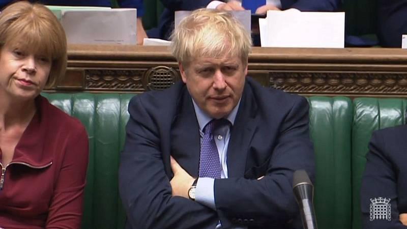 Boletines RNE - Boris Johnson amenaza con Elecciones Generales si no se aprueba el acuerdo con la UE - Escuchar ahora