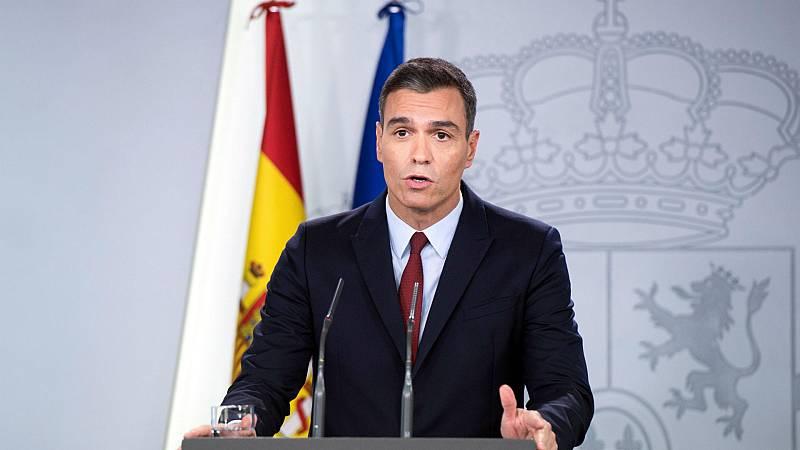 """Boletines RNE - Pedro Sánchez: """"La exhumación pone fin a una afrenta moral"""" - Escuchar ahora"""