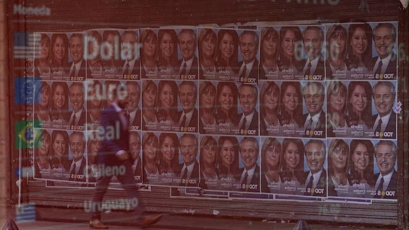 14 horas fin de semana - La crisis económica marca las elecciones argentinas y los peronistas favoritos - Escuchar ahora