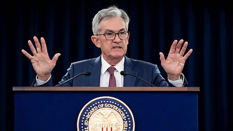24 horas - La Reserva Federal baja de nuevo los tipos de interés - Escuchar ahora