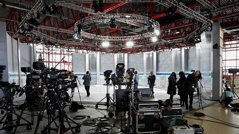 14 horas fin de semana - La Academia de Televisión ultima los preparativos del debate a cinco - Escuchar ahora