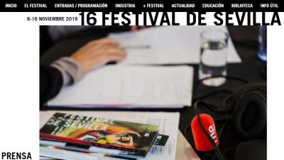 De pelicula - Viajamos en tren al Festival de Sevilla - Escuchar ahora