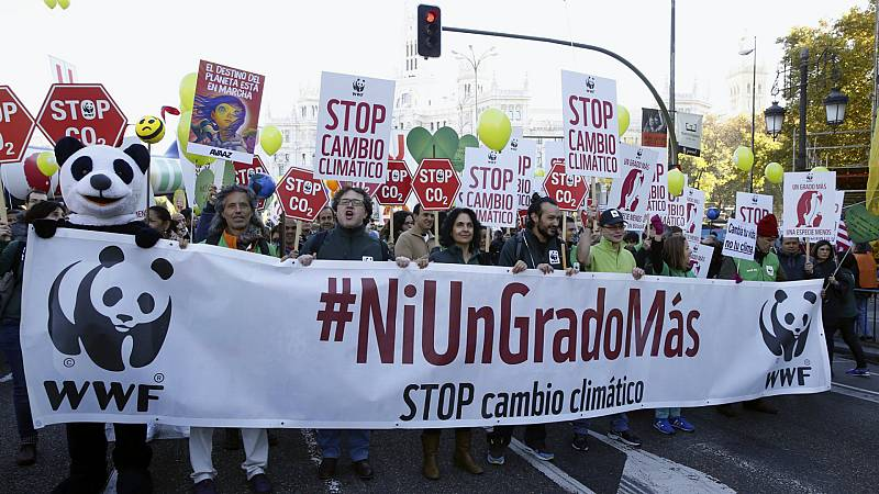 Boletines RNE - Preparativos de la Cumbre del Clima de Madrid - Escuchar ahora