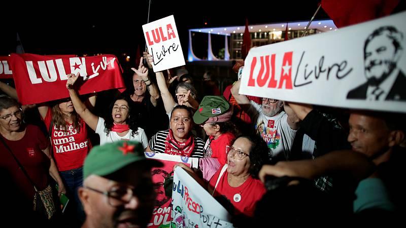 14 horas - Lula da Silva, con posibilidades de salir de la cárcel - Escuchar ahora
