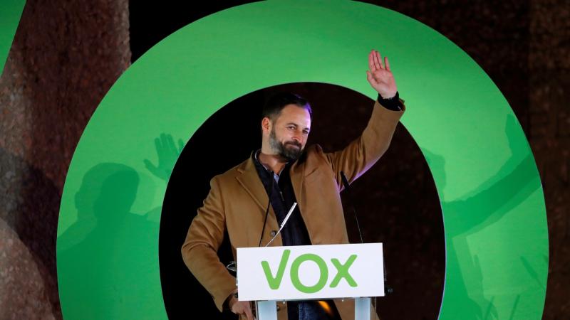 VOX se posiciona como la tercera fuerza más votada