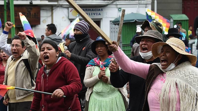 24 horas - Evo Morales ya está en México - Escuchar ahora