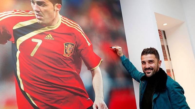 Las mañanas de RNE con Íñigo Alfonso - David Villa deja el fútbol a los 38 años - Escuchar ahora