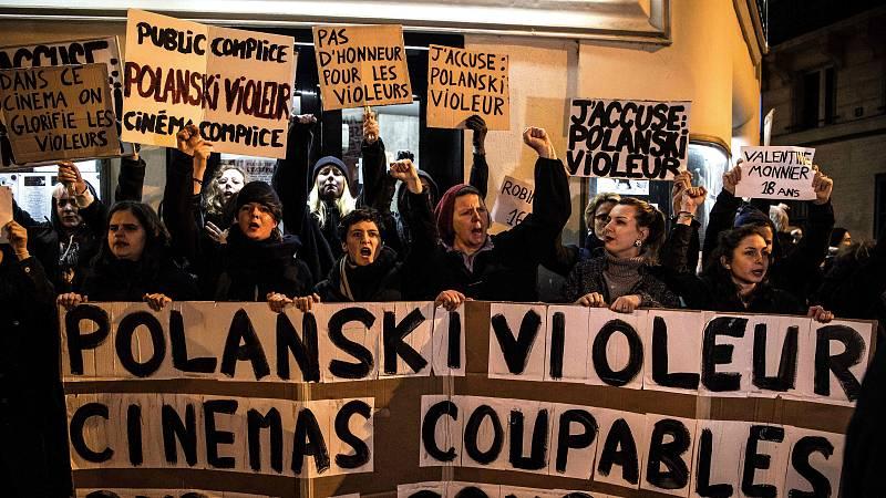 14 horas -  Decenas de mujeres boicotean el estreno de Polanski - Escuchar ahora