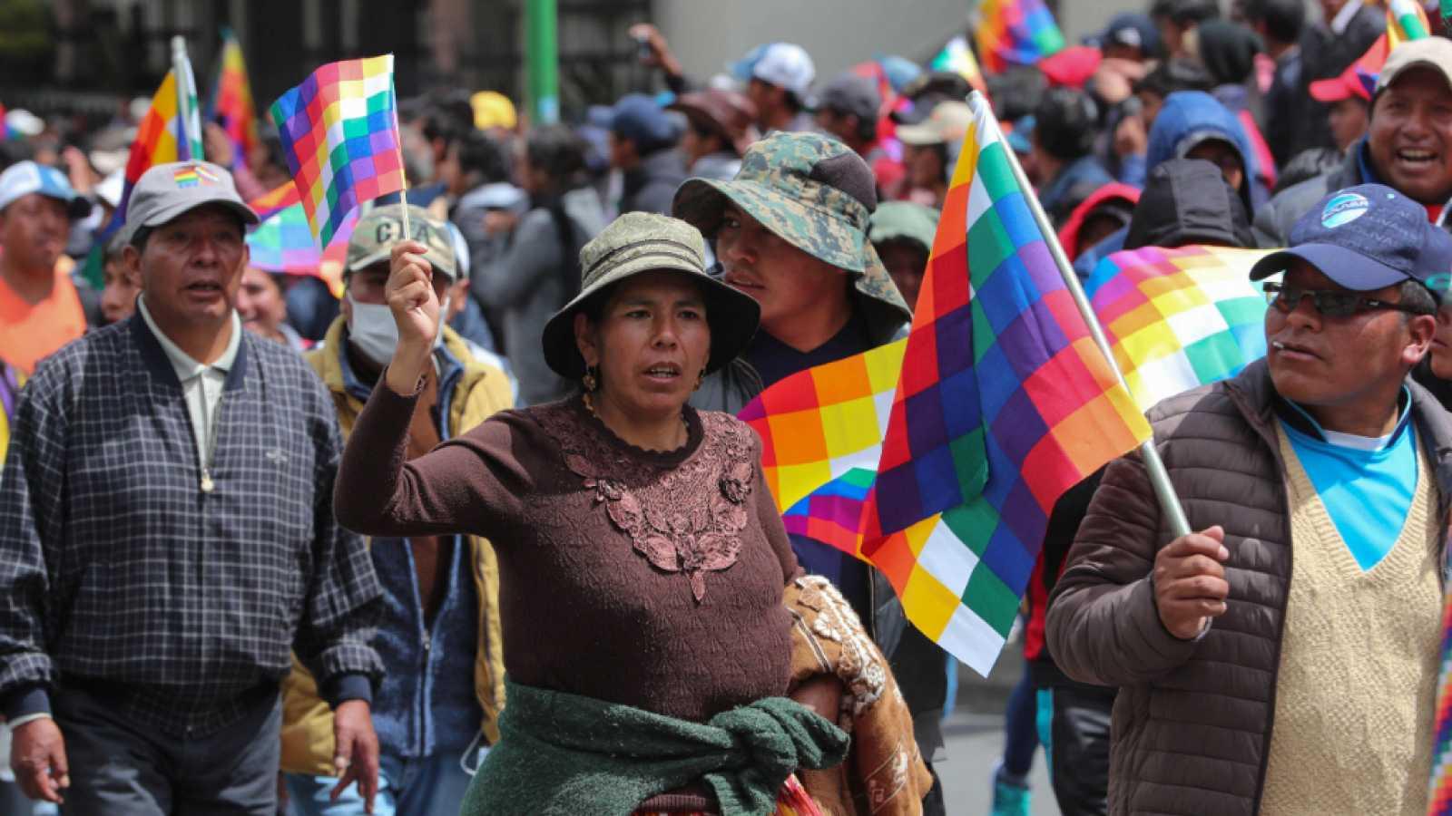 «Lo importante es pacificar Bolivia»
