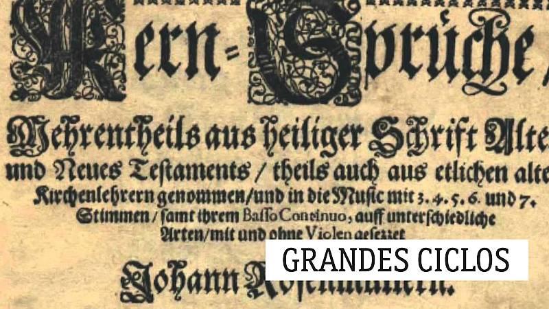 Grandes ciclos - J. Rosenmüller (IV): Se acerca Vivaldi - 15/11/19 - escuchar ahora
