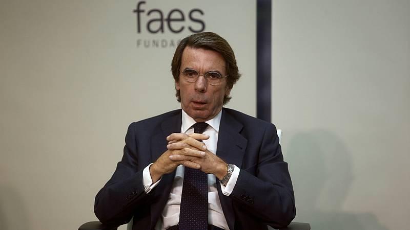 Boletines RNE - Aznar pide una alianza de partidos constitucionalistas - Escuchar ahora