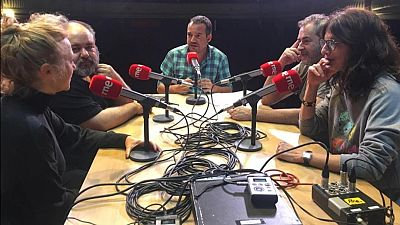 La sala - Sobre el escenario con Jorge Bosch, Jorge Calvo, Maribel Verdú y Pilar Castro - 08/12/19 - escuchar ahora
