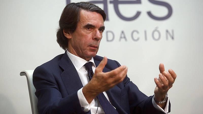 24 horas - Aznar a favor de un acuerdo PP-PSOE pero sin Sánchez - Escuchar ahora