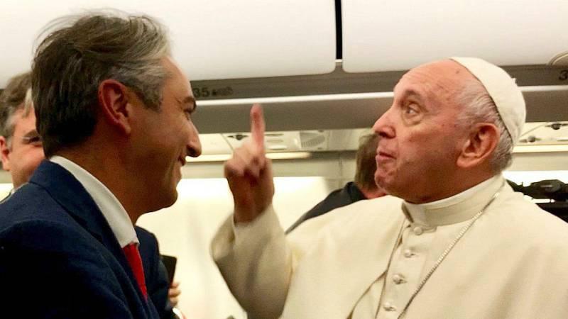 Las mañanas de RNE con Íñigo Alfonso - El papa Francisco inicia en Bangkok su viaje por Asia - Escuchar ahora