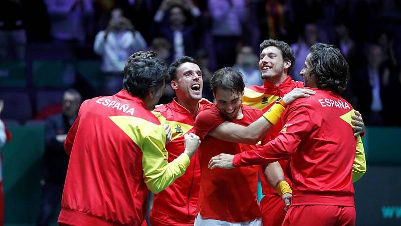 Tablero Deportivo - España gana por sexta vez la Copa Davis, campeona del mundo - Escuchar ahora