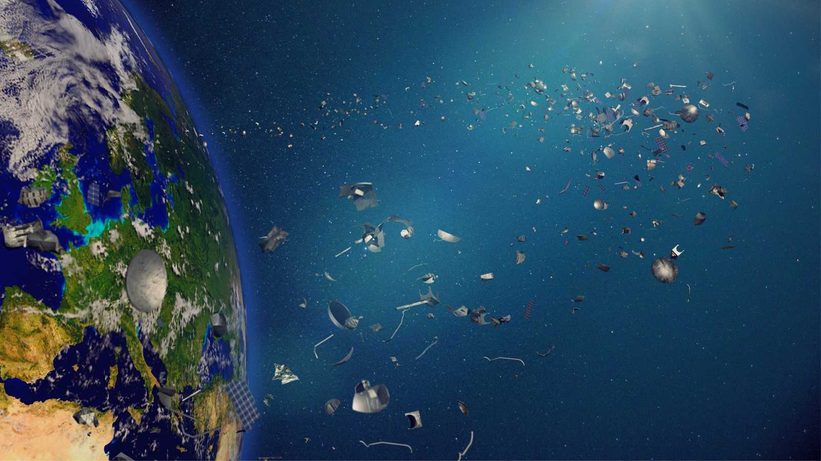 A golpe de bit - España lidera un proyecto para eliminar la basura espacial - 25/11/19 - escuchar ahora