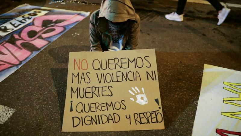 Las mañanas de RNE con Íñigo Alfonso - Colombia, muere el joven herido en las manifestaciones - Escuchar ahora
