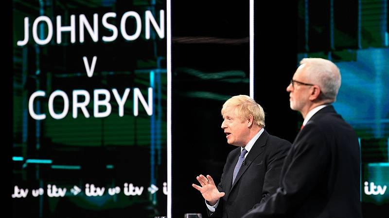 Boletines RNE - Johnson podría obetner mayoría absoluta en el Reino Unido - Escuchar ahora