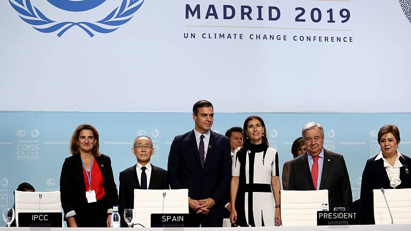 Boletines RNE - Comienza oficialmente la Conferencia del Clima de Madrid - Escuchar ahora