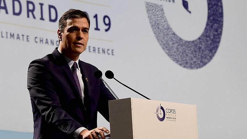 Boletines RNE - Sánchez pide que Europa asuma el liderazgo por el clima - Escuchar ahora