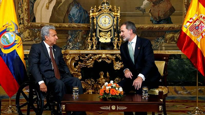 """24 horas - El rey Felipe VI pide """"liderazgo y determinación"""" para frenar el cambio climático - Escuchar ahora"""