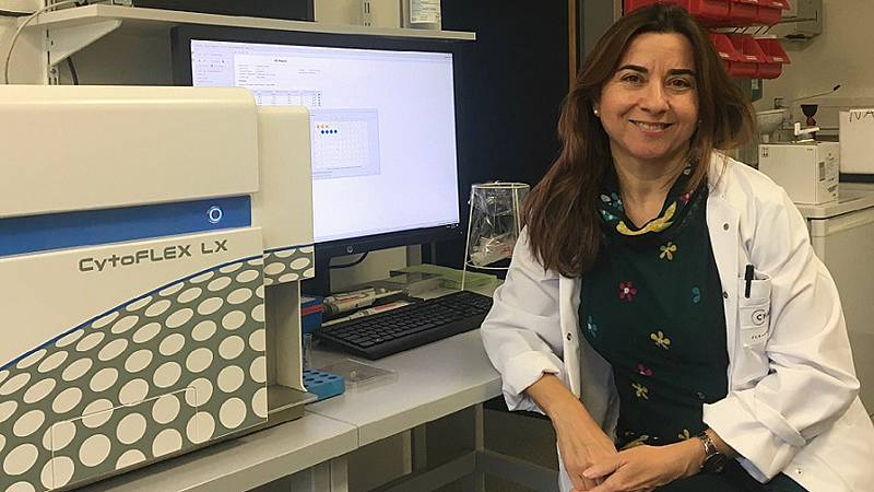 Punto de enlace - Carmen Infante investiga la esclerosis múltiple en Berlín - 03/12/19 - escuchar ahora
