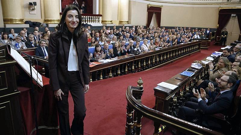14 horas - Pilar Llop, nueva presidenta del Senado - Escuchar ahora