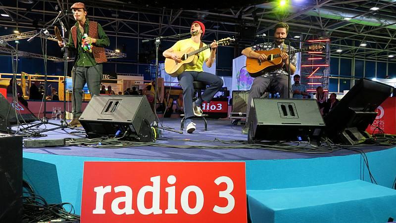 Radio 3 suena por el planeta - Mucho, Club Del Río y Leo Minax - 03/12/19 - escuchar ahora