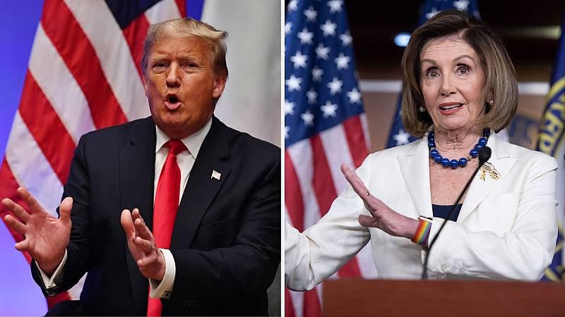 Boletines RNE -Los demócratas acusarán formalmente a Trump para iniciar el 'impeachment' - Escuchar ahora