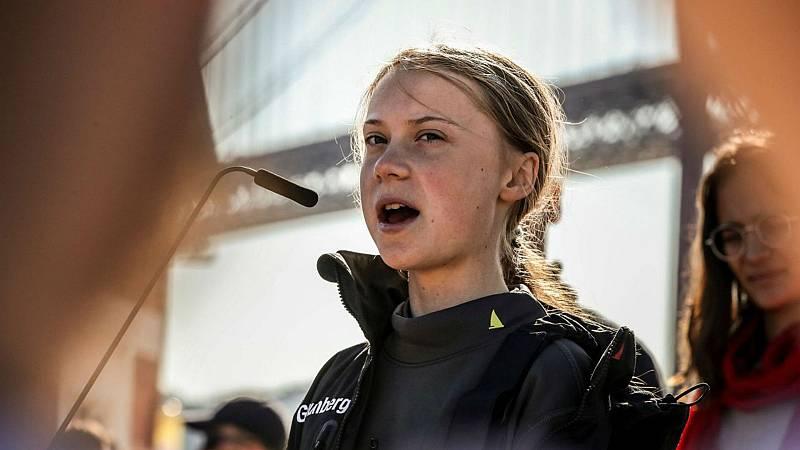Las mañanas de RNE con Íñigo Alfonso - La Marcha por el Clima encabezada por Greta Thunberg recorrerá esta tarde Madrid - Escuchar ahora
