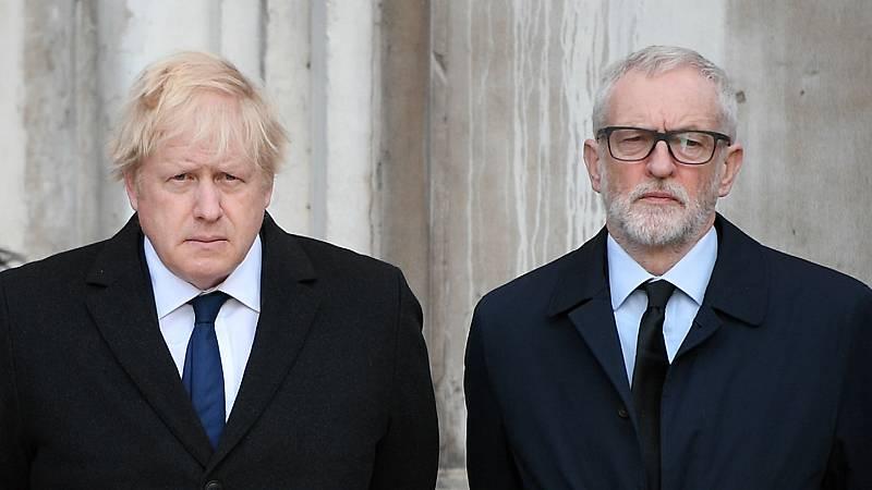 Boletines RNE - Último debate de la campaña entre Corbyn y Johnson - Escuchar ahora