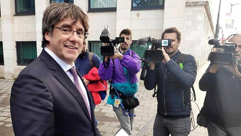 24 horas fin de semana - Puigdemont irrumpe en la negociación con Esquerra - Escuchar ahora