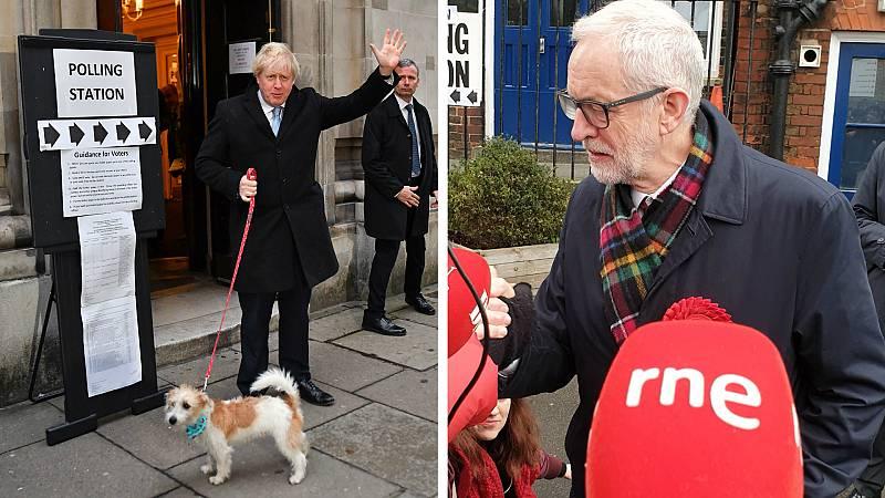 Boletines RNE - Johnson y Corbyn votan en el Reino Unido - Escuchar ahora