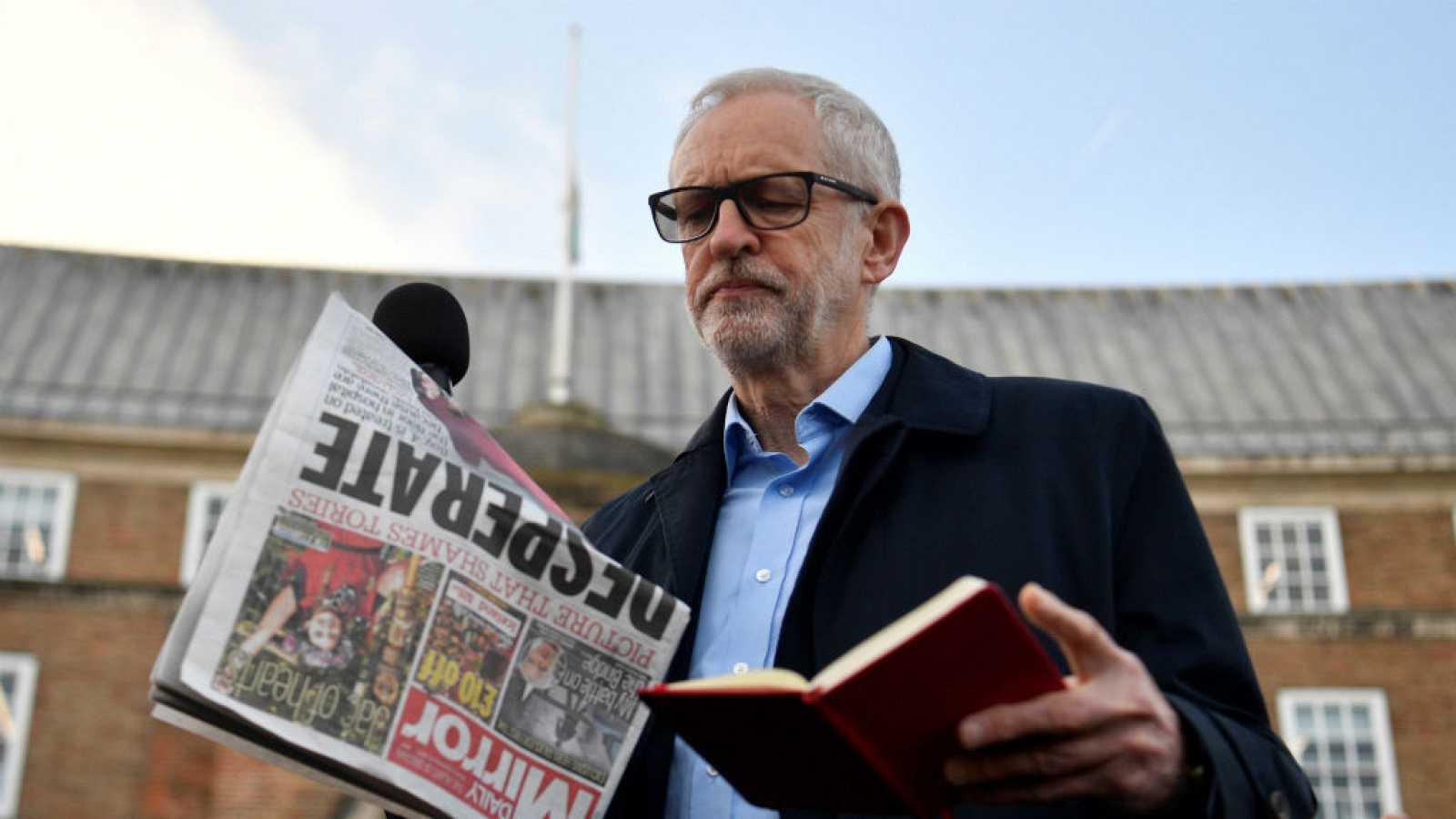 Las mañanas de RNE con Íñigo Alfonso - Corbyn sufre un duro revés para el partido laborista - Escuchar ahora