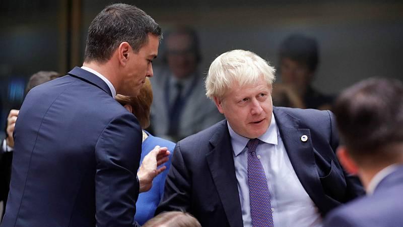 Boletines RNE - El Gobierno español en funciones felicita a Johnson - Escuchar ahora