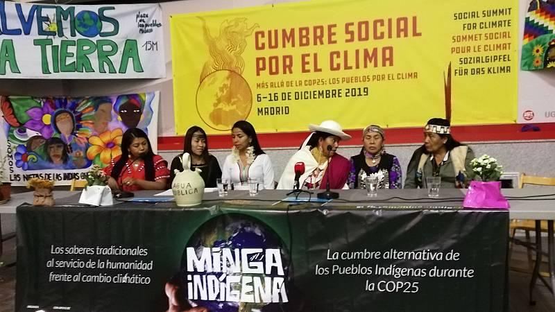 Solidaridad - La voz de los Pueblos Indígenas durante la COP25 - 14/12/19 - Escuchar ahora
