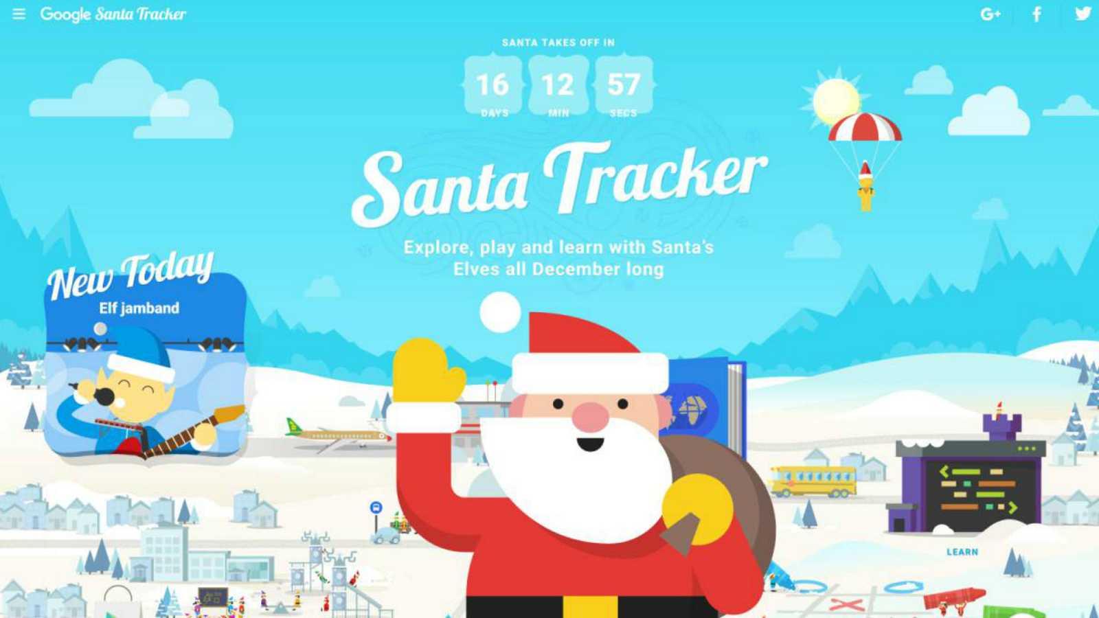 Red abierta - Santa Tracker - 15/12/19 - Escuchar ahora