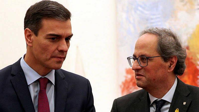 Boletines RNE - Torra defiende la autodeterminación de Cataluña en su llamada a Sánchez - Escuchar ahora