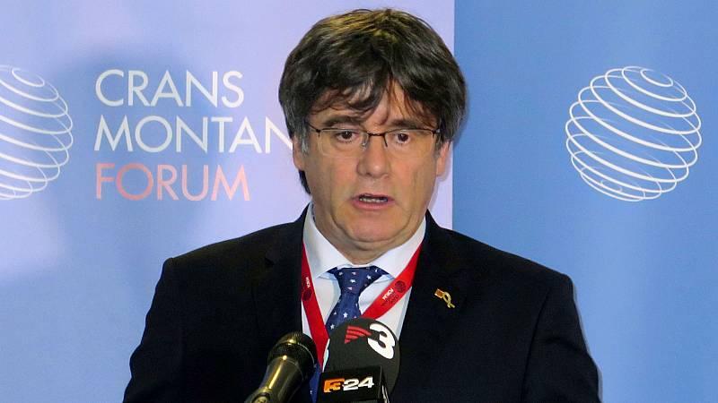 Boletines RNE - El Parlamento Europeo permite la entrada a sus instalaciones a Puigdemont - Escuchar ahora