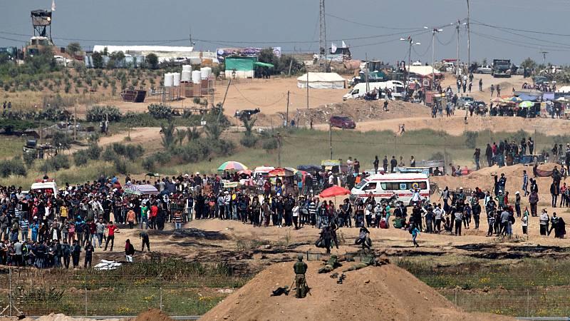 Boletines RNE - Investigan posibles crímenes de guerra en Palestina cometidos por Israel - Escuchar ahora