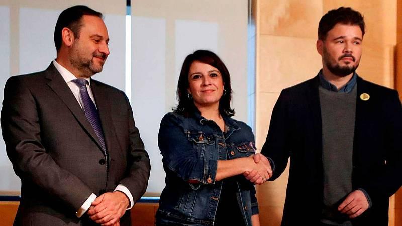 24 horas - El PSOE espera la decisión final de Esquerra cuando salga el escrito de la Abogacía del Estado - Escuchar ahora