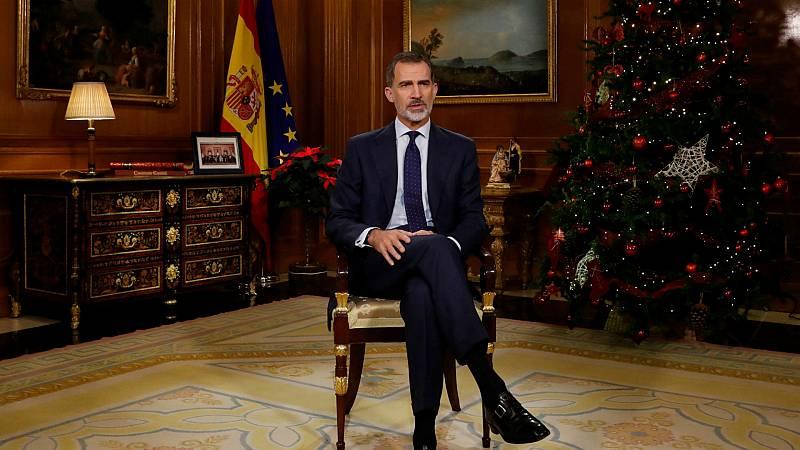 Especiales RNE - El Rey Felipe VI desea concordia, entendimiento, igualdad y democracia - Escuchar ahora