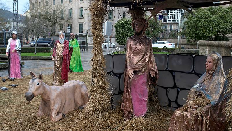 14 horas - Secuestran por segunda vez al niño Jesús del belén de Ourense - Escuchar ahora