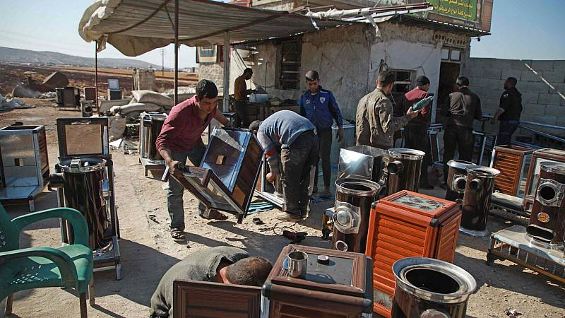 Boletines RNE - La ONU alerta del éxodo de civiles en el enclave sirio de Idlib - Escuchar ahora