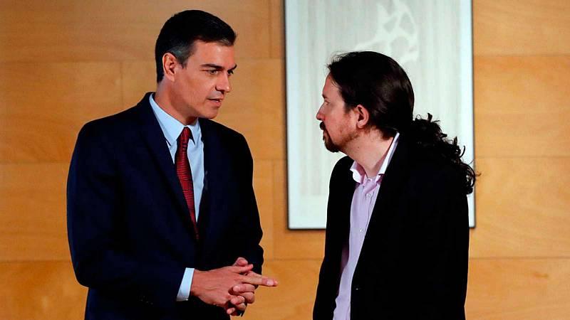14 horas - PSOE y Unidas Podemos presentarán su programa de Gobierno de coalición esta tarde - Escuchar ahora