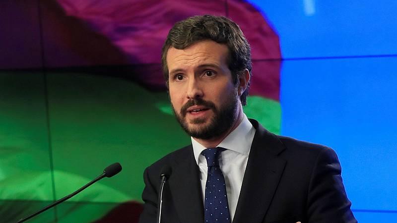 14 Horas - Casado pide la comparecencia de la ministra de Justicia por la supuesta filtración a ERC del informe - Escuchar ahora