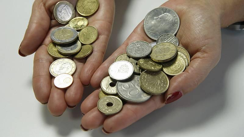 Boletines RNE - 2020 será el último año para poder cambiar las pesetas por euros - Escuchar ahora