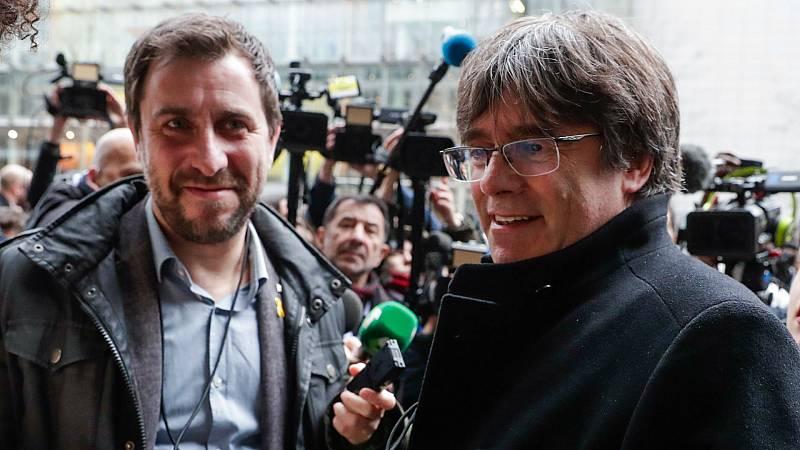 14 horas - La justicia belga suspende las euroórdenes contra Puigdemont y Comín - Escuchar ahora