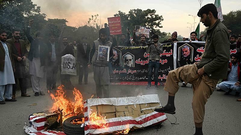 14 Horas - El asesinato de Soleimani hace temer un nuevo estallido de violencia en Oriente Próximo - Escuchar ahora