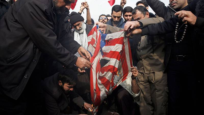 24 horas - ¿Por qué tiene lugar en Iraq el conflicto entre EEUU e Irán? - Escuchar ahora